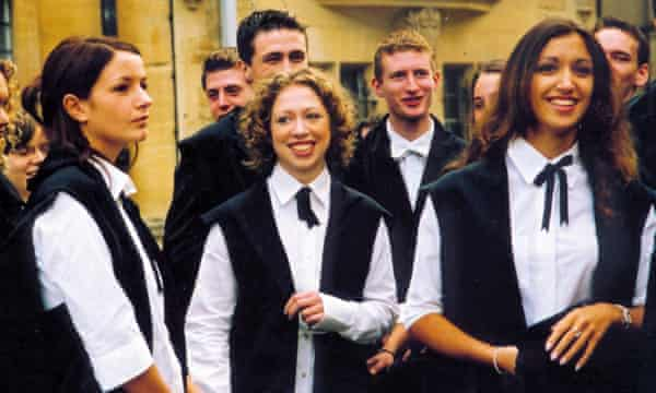 Chelsea Clinton at her matriculation at Oxford University.