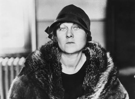 Ruth Snyder at the time of her trial in 1927.