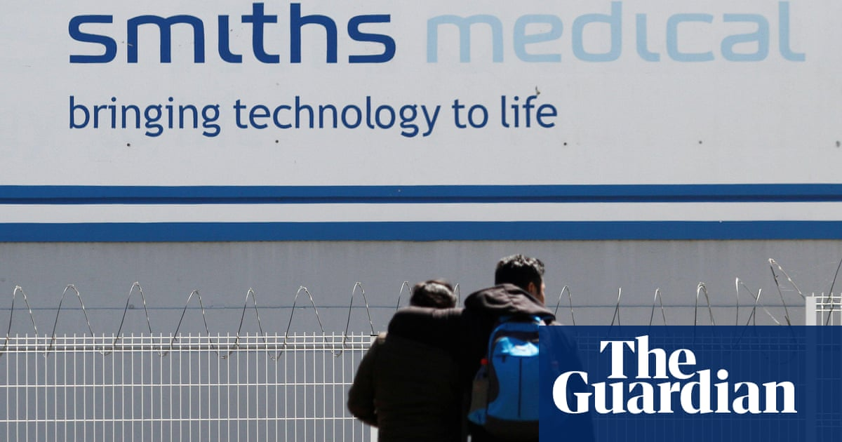Smiths Group agrees to sell medical division to US private equity firm