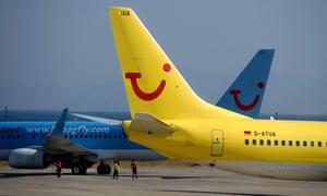 TUI shrugs off UK tourist worries