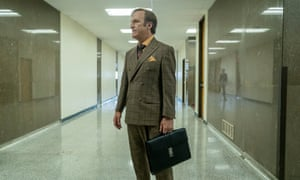 Wildly entertaining ... Bob Odenkirk as Jimmy McGill in Better Call Saul.