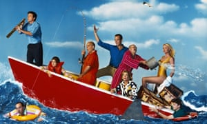 All at sea: the cast of Arrested Development.
