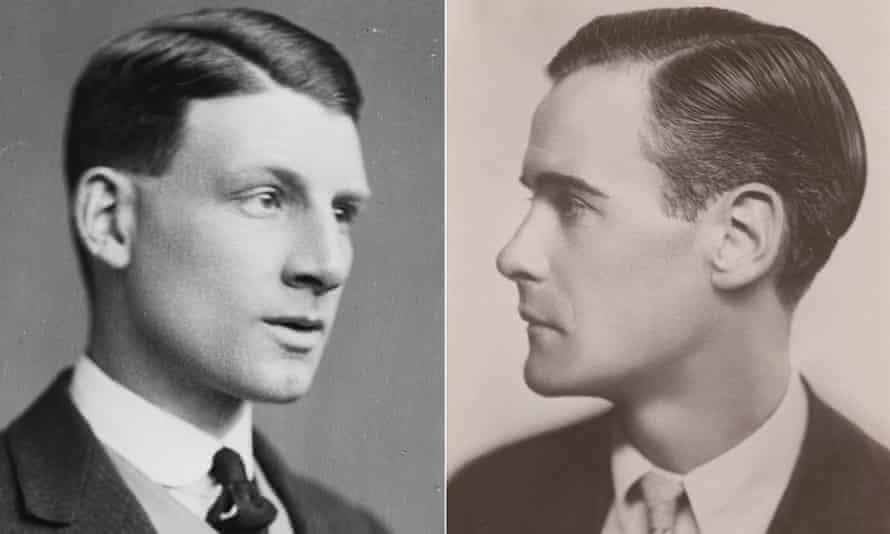 Siegfried Sassoon by George C. Beresford and Glen Byam Shaw by (Muriel) Elizabeth Ivimey