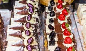 Patisserie Valerie cream cakes for sale