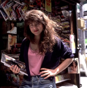 Naomi Wolf, late 1980s New York Janette Beckman/ Retna Ltd, USA