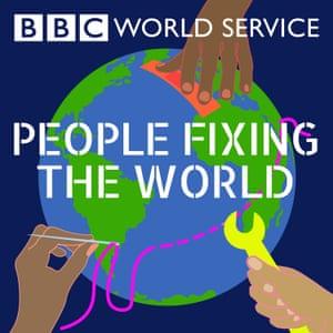 People Fixing the World BBC podcast logo