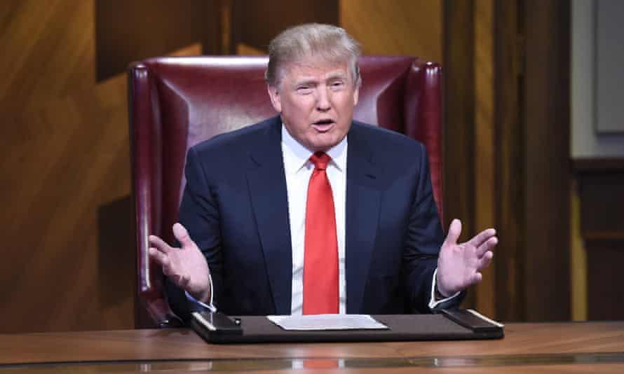 Donald Trump on NBC's Celebrity Apprentice