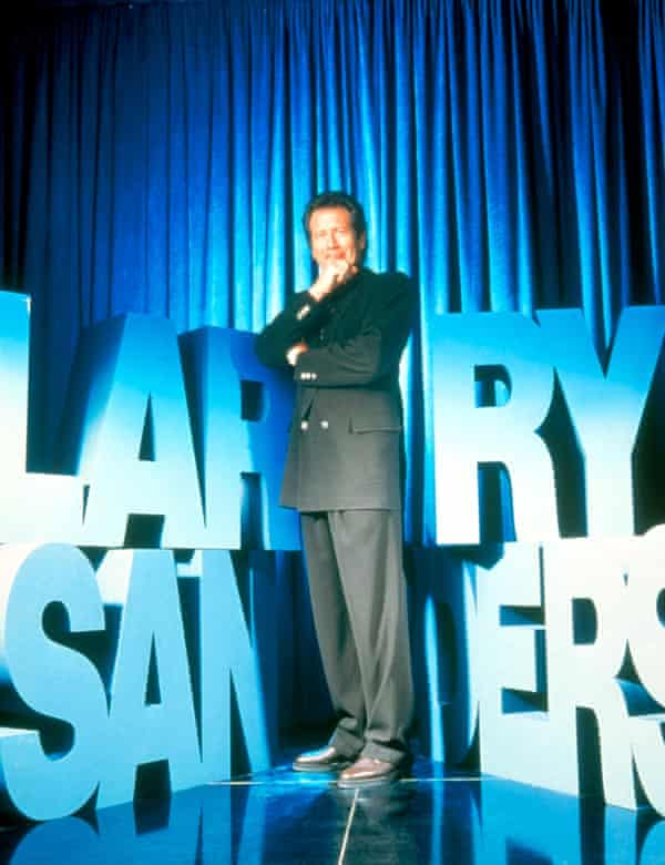 Mo Meta Blues: Garry Shandling in The Larry Sanders Show.