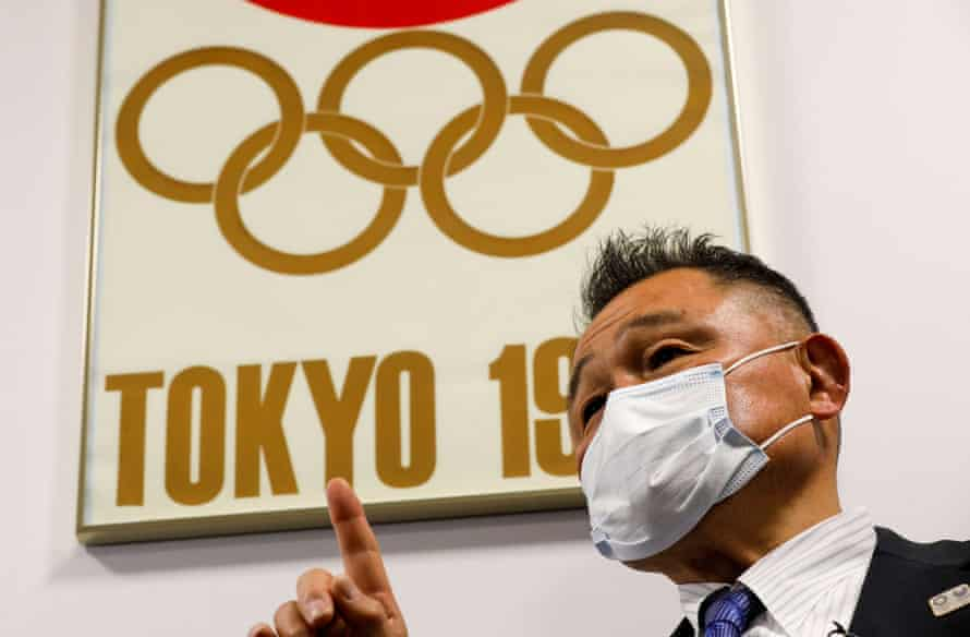 Yasuhiro Yamashita, the president of the Japanese Olympic Committee, during an interview on Friday.