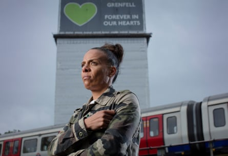 Natasha Elcock of Grenfell United.
