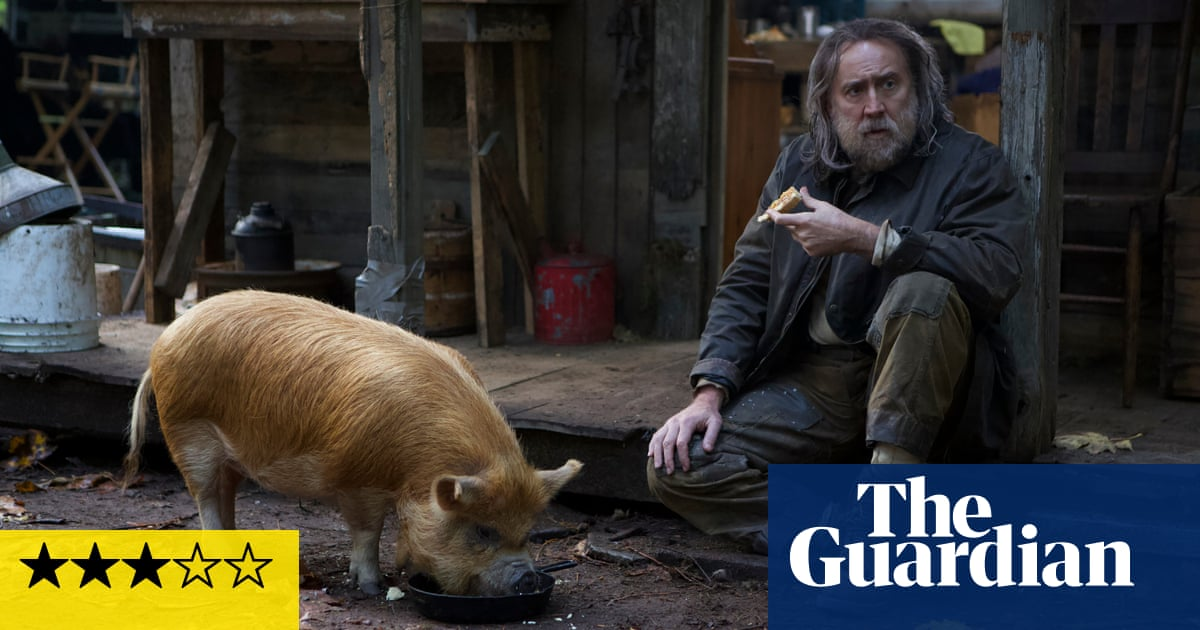 Pig review – Nicolas Cage hunts for a stolen animal in meditative drama