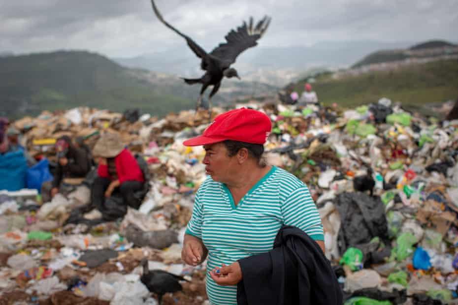 Yolanda Jesús Lozano, municipal dump, Rio Abajo, Tegucigalpa