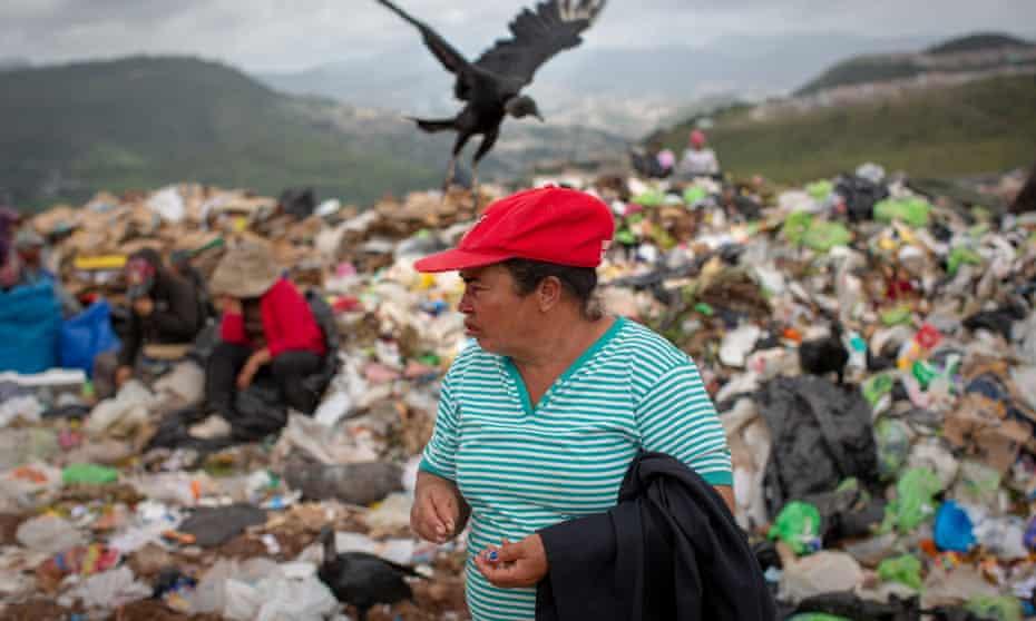 Yolanda Jesús Lozano, who lives on the municipal dump in Rio Abajo, Tegucigalpa