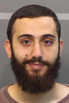 An image of Mohammad Youssuf Abdulazeez at the time of his arrest in April 2015 for a traffic offense in Chattanooga.