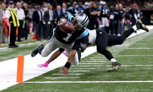 Cam Newton couldn't prevent the Panthers from falling to another defeat