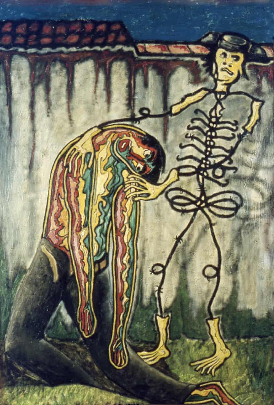 The Death of García Lorca by José García Tella, 1953.