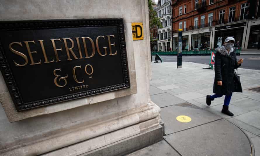 Selfridges on London's Oxford Street