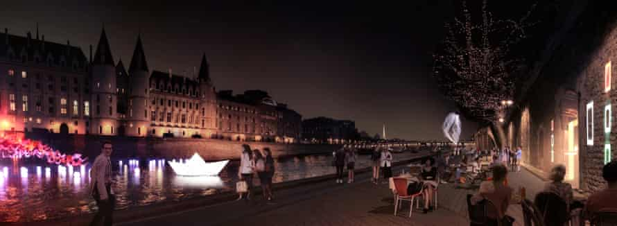 Paris mayor plans to pedestrianise right bank of Seine
