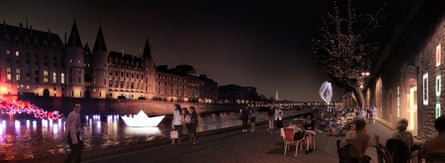 Paris mayor plans to pedestrianise right bank of Seine