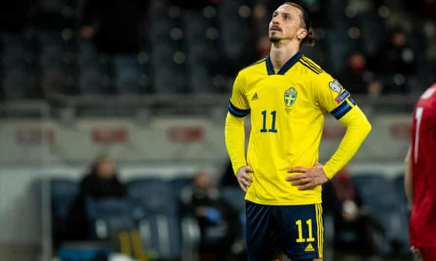 Zlatan Ibrahimovic only came out of international retirement in March.