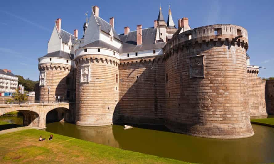 Château de Ducs de Bretagne.