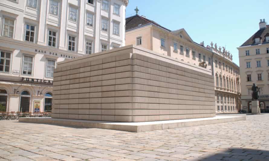 Rachel Whiteread's Holocaust memorial for Vienna