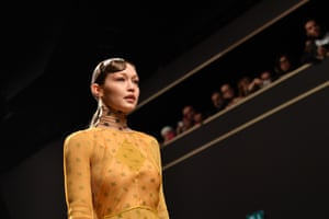 Gigi Hadid at Milan fashion week