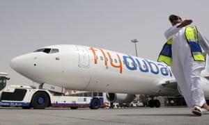 A FlyDubai Boeing 737 of the type that crashed in Russia.