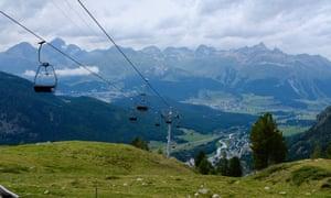 Pontresina, in the Swiss Alps