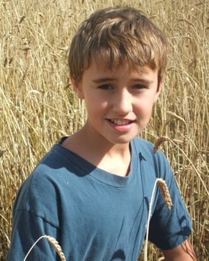 Jack on his father's farm near Oxford in 2006.