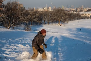 The spirit of the Winter Olympics lives on in Greenwich park, London.