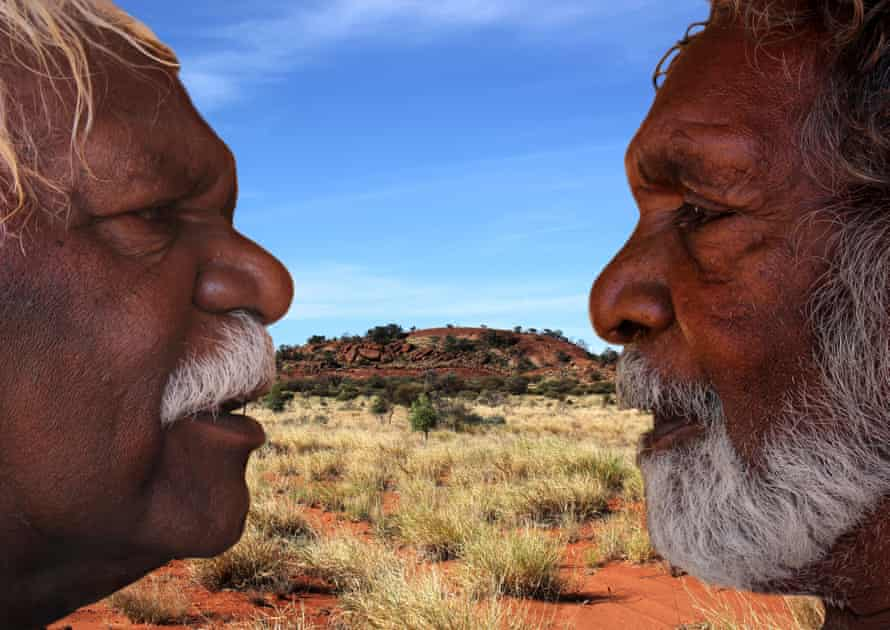 Ronnie and Douglas by Brenda Douglas from Songlines: Tracking the Seven Sisters.
