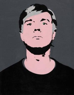 Andy Warhol's Self-Portrait, 1964.