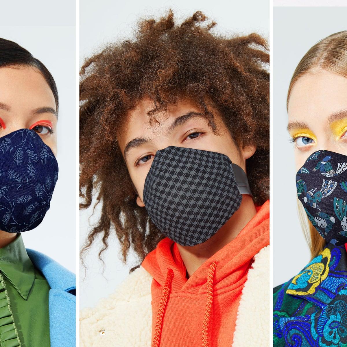 Fashionable Face Masks Trying To Make Something Horrific Seem Appealing Fashion The Guardian