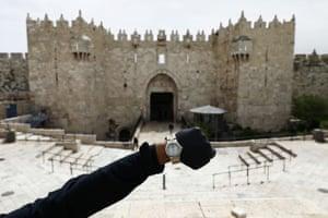 Damascus Gate at Jerusalem's Old City