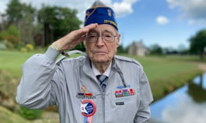Russell Pickett, 94, says he has flashbacks to the landing 75 years ago but says: 'I thought my country was worth it then and I still do.'