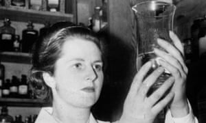 Margaret Thatcher in the late 1940s, when she worked as a research chemist