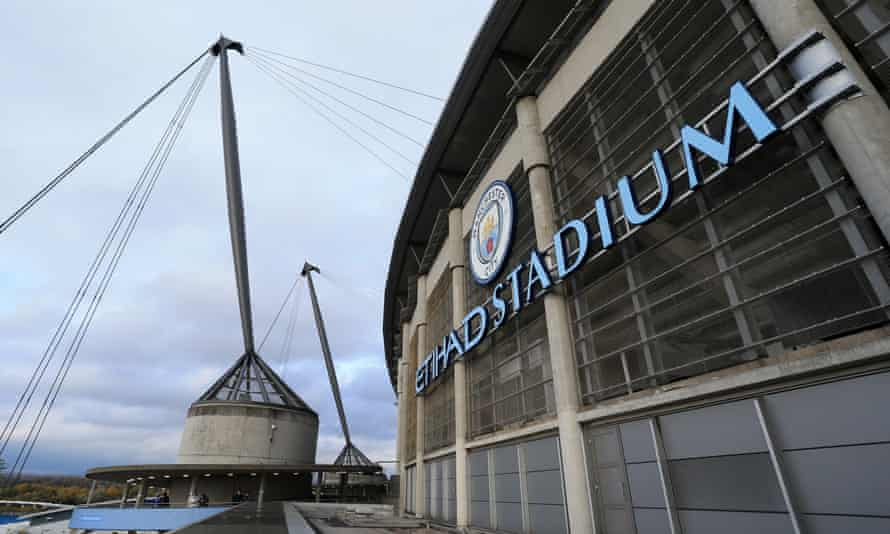 The Etihad Stadium has been Manchester City's home since 2003.