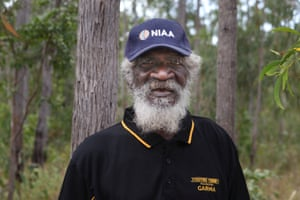 """Djunga Djunga Yunupingu, a senior Gumatj man and cultural advisor to Yothu Yindi Foundation, says the festival is about """"an education to learn more about Yolngu"""" from people """"who know what the land is, who the land belongs to, what holds the ceremonies""""."""