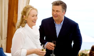 Silver separators Jane (Meryl Streep) and Jake (Alec Baldwin) in the 2009 film It's Complicated.