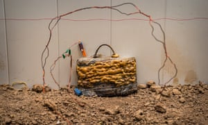 Wire-controlled defused IEDs