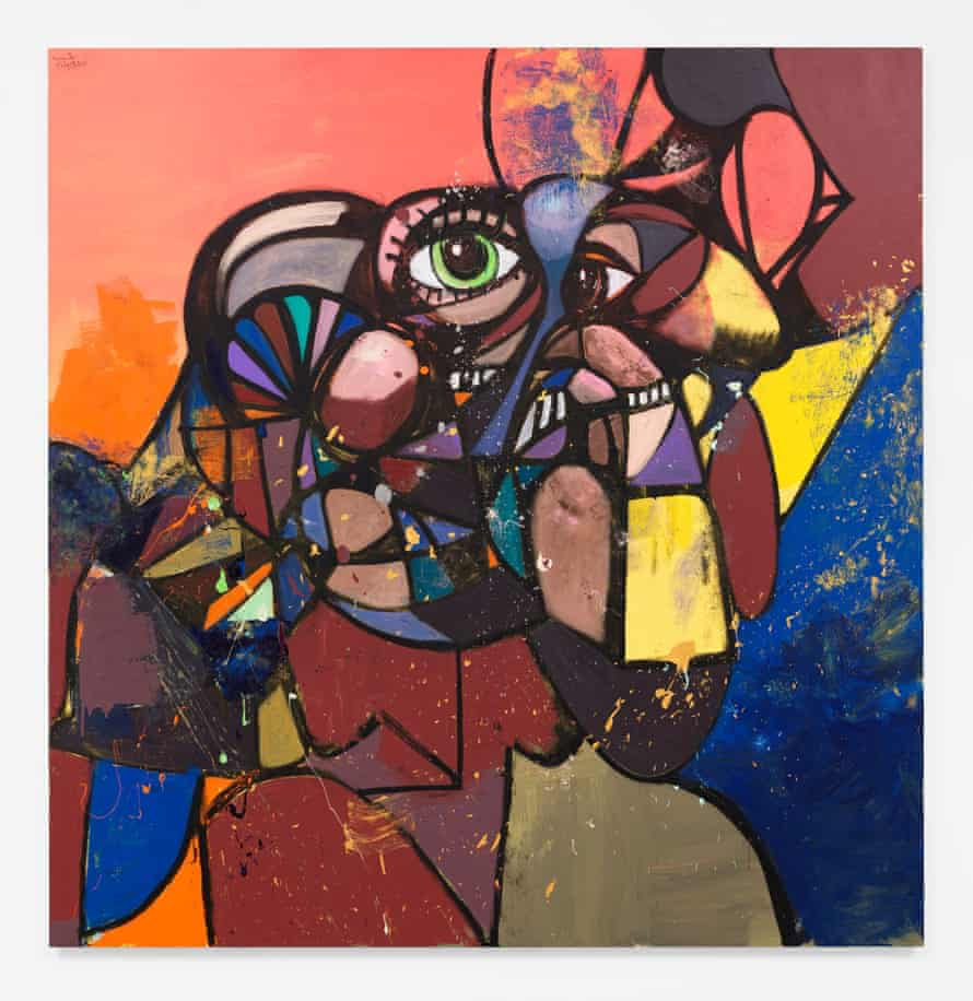 The New Normal by George Condo. Hauser & Wirth's online viewing room allows you to zoom in on artists' work.
