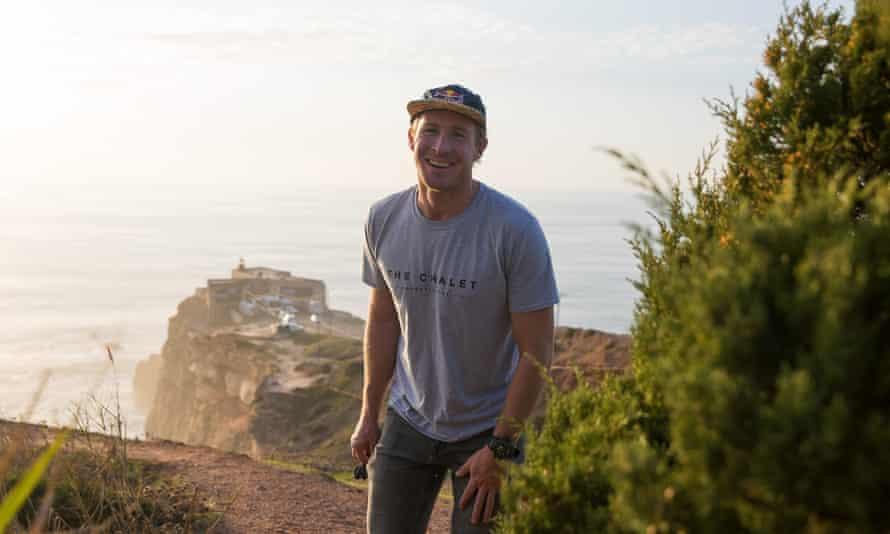 'It was a big-wave Disneyland': surfer Andrew Cotton.
