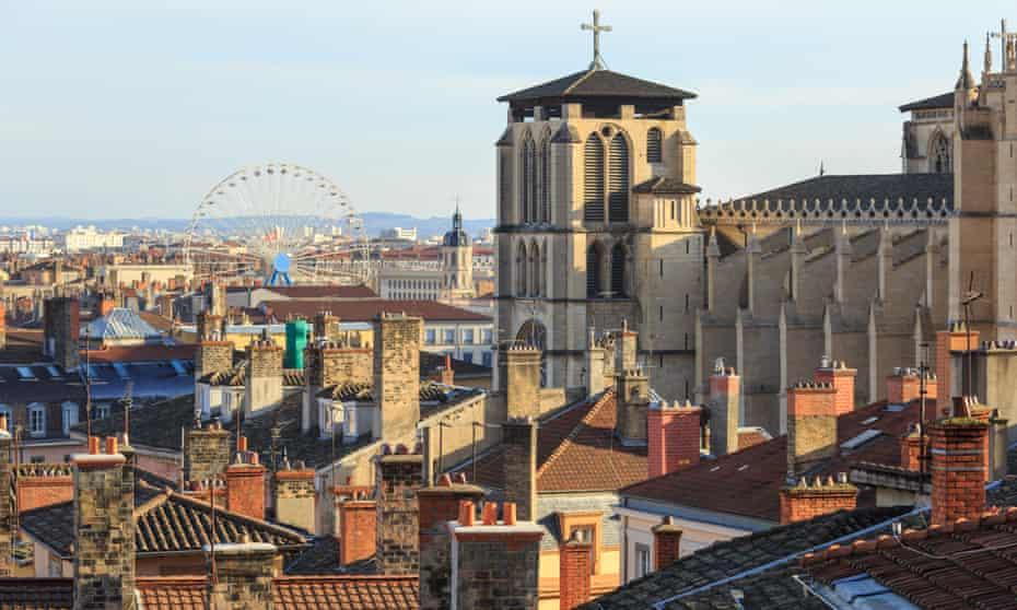 Old town, Lyon.