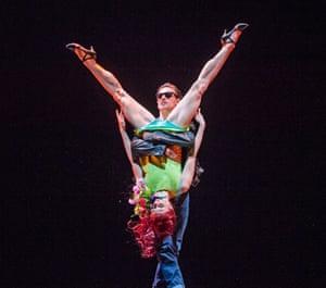 Sergei Polunin and Natalia Osipova in Run Mary Run by Arthur Pita