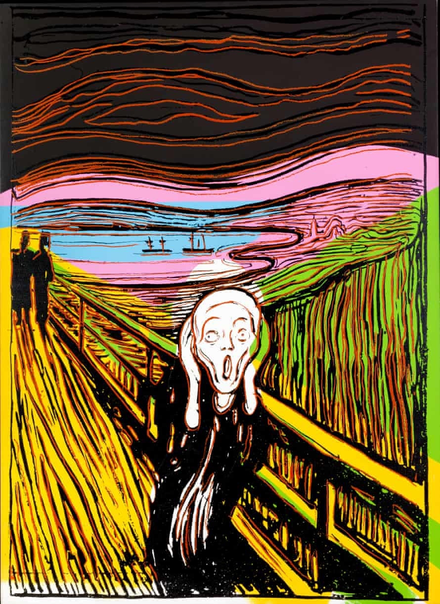 Andy Warhol, The Scream (After Munch), 1984