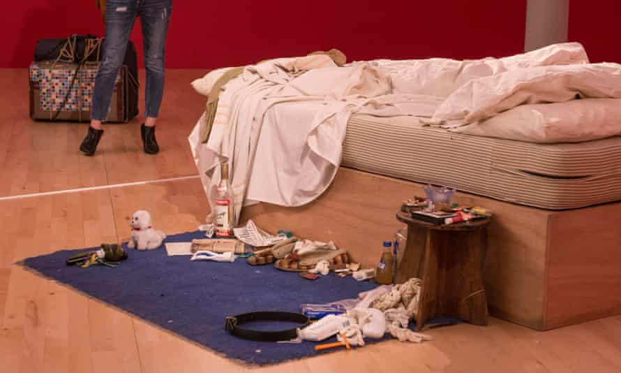 Tracey Emin's recreated My Bed