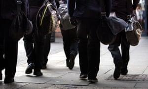 Anonymous secondary school pupils