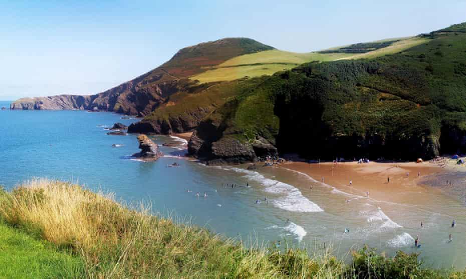 Coastal Scene in Mid Wales