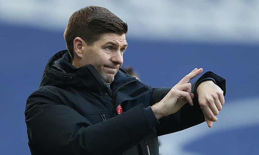 Steven Gerrard at Rangers